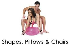 Shapes, Pillows, and Chairs Bondage Sub Category Page